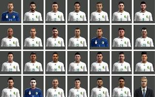Argelia FacePack Pes 2013 By Ben Ameur