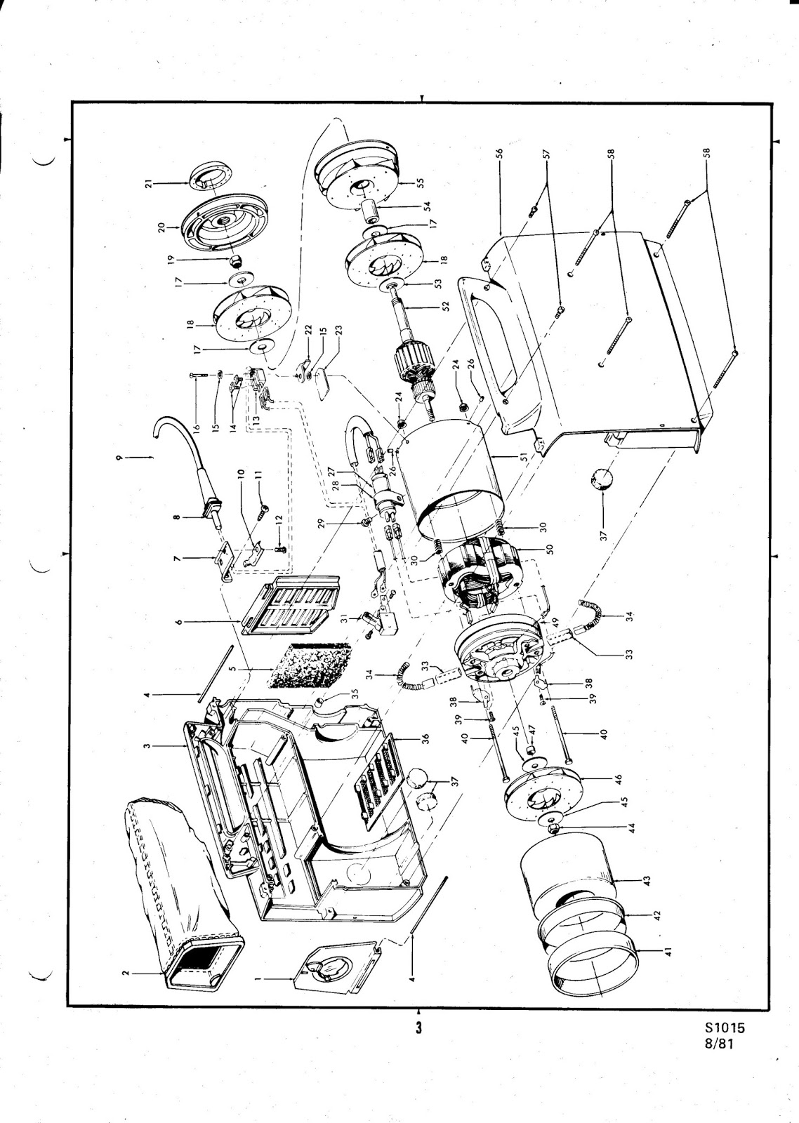 Hoover Portapower S1015 Service Manual