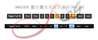 طريقة اضافة ترقيم الصفحات لمدونة بلوجر بأشكال مختلفه Numbered Page Navi
