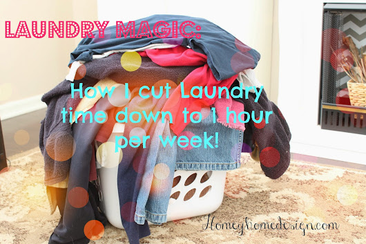 Laundry Time Saving Ideas