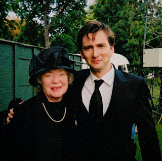 Daphne Neville with David Tennant