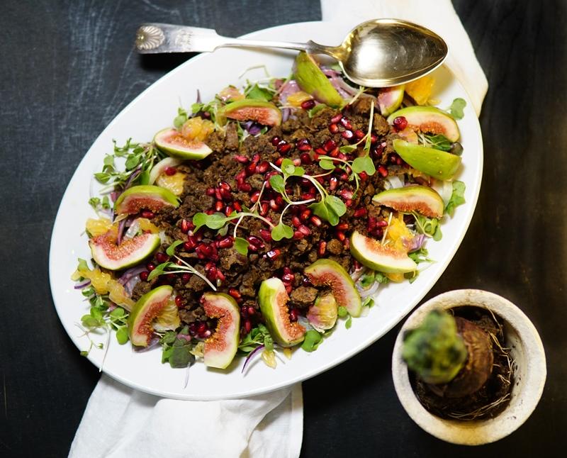 Härkis, salaatti, talvisalaatti, kasvisruoka