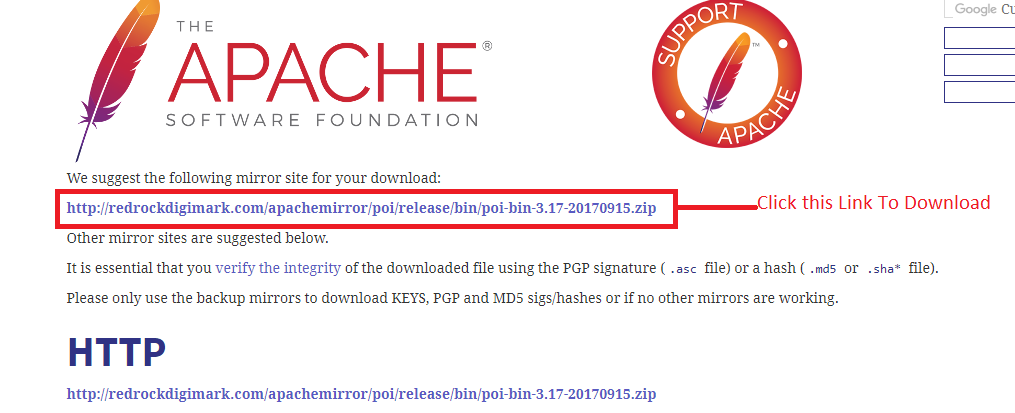 QaMantra: How To Download Apache POI jar to read and write
