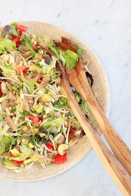 kip piri piri salade - www.desmaakvancecile.com