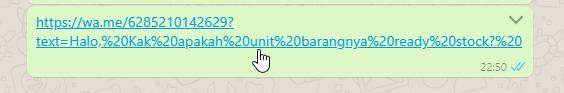 cara membuat link whatsapp, whatsapp link chat otomatis