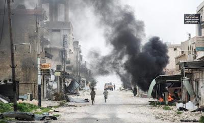 Warplanes strike near Syria's Hama as army counter-attacks