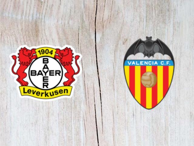 Bayer Leverkusen vs Valencia -  Highlights - 11 August 2018
