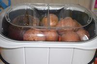 Винегрет из овощей на пару: Овощи положить в пароварку