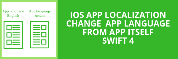 iOS App Localization: Change app language and app design layout from