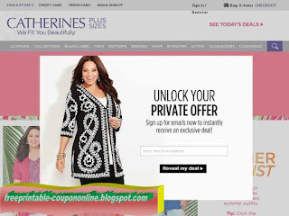 image about Catherines Printable Coupons titled Printable Coupon codes 2019: Lane Bryant Discount codes