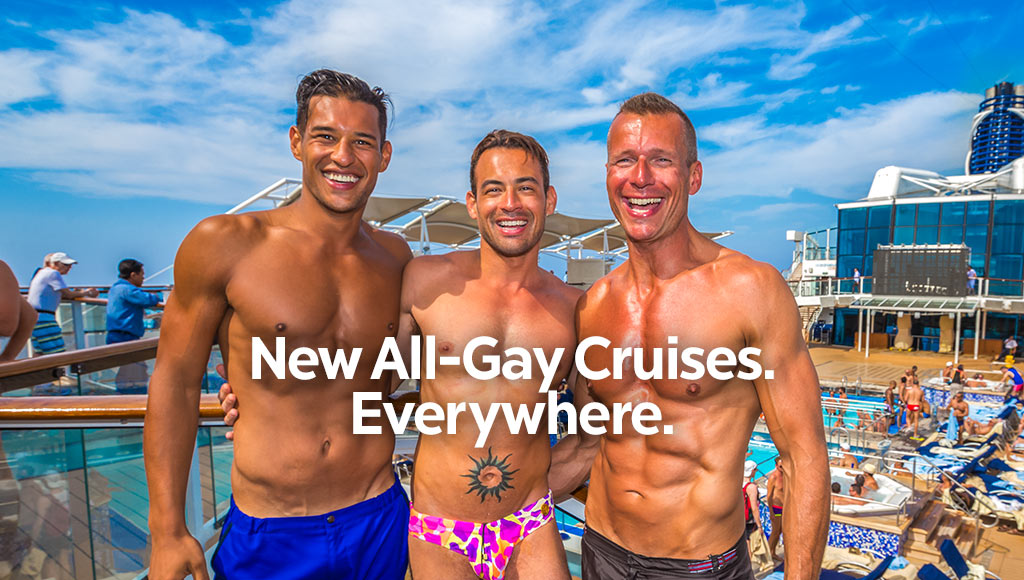 The cruises are open for everyone who like an open atmosphere: gay