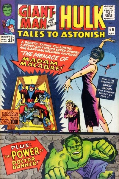 Tales To Astonish #66, Giant-Man vs Madam Macabre