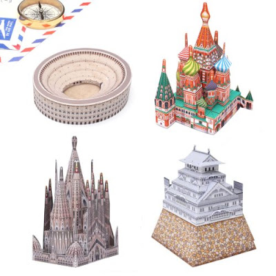 Canon Mini Architecture Paper Models