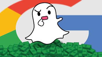 Google podría llegar a competir con Snapchat