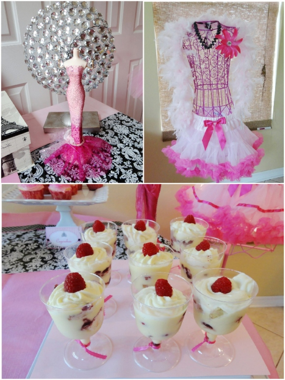 A pink glam barbie birthday party party ideas party for Decoration barbie