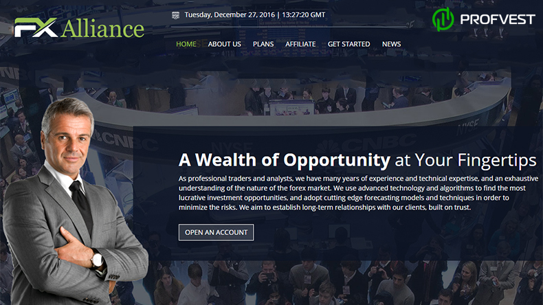 FX Alliance обзор и отзывы вклад 400$
