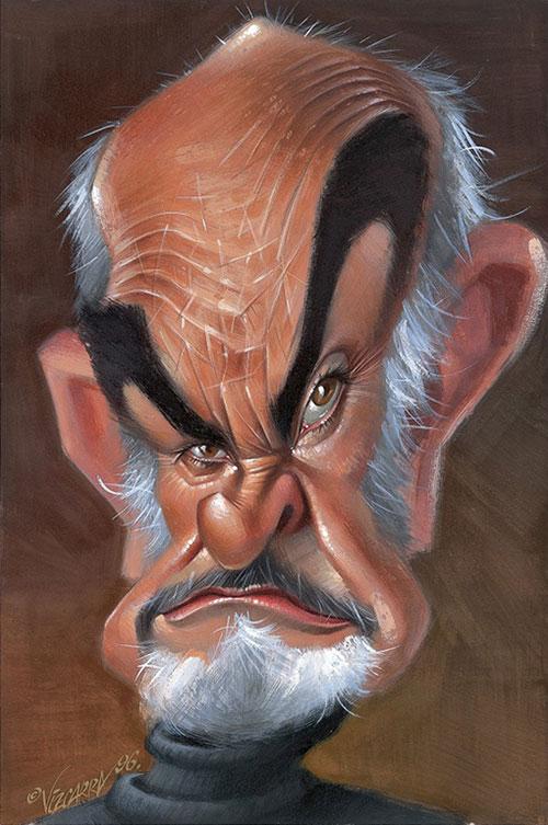 Sean Connery por Joan Vizcarra