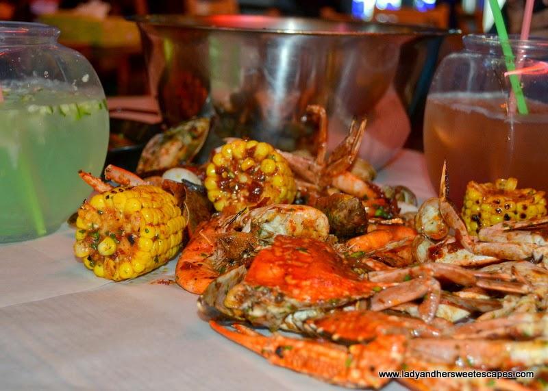 seafeast at Dampa restaurant Dubai
