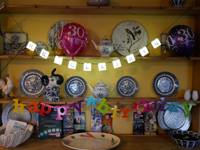 30th Birthday decorations in The Cornhouse - Airbnb