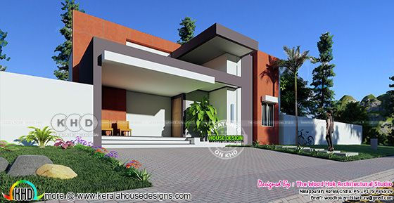$22k cost estimated contemporary house plan