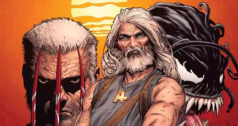 Old Man Hawkeye Gets Cover By Old Man Logan Original Artist.
