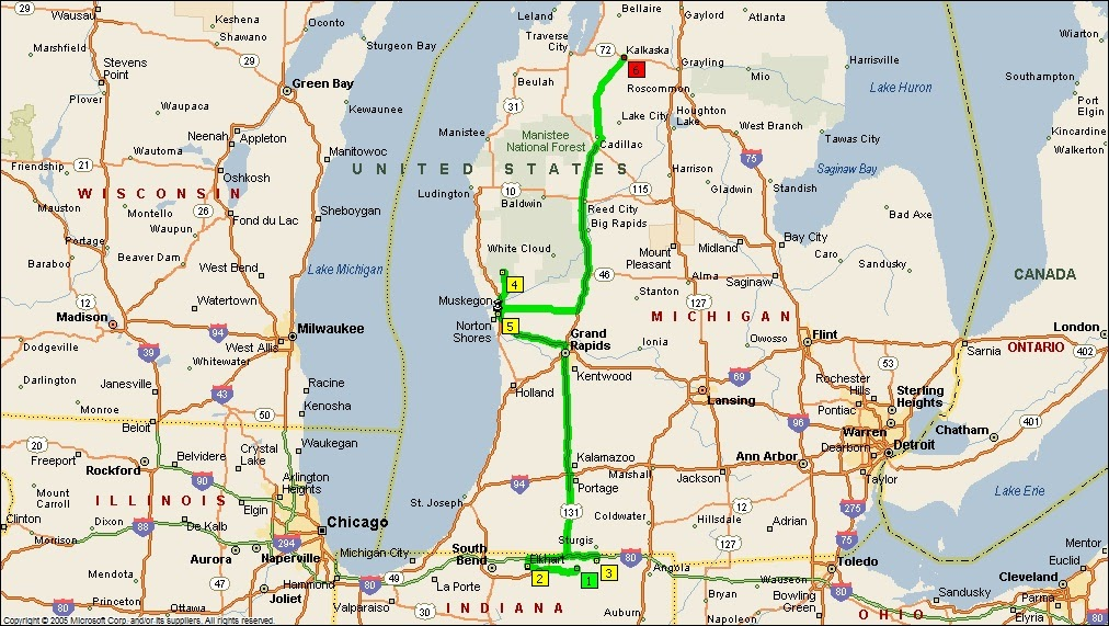 Roving Reports By Doug P 2011 25 Indiana To Michigan