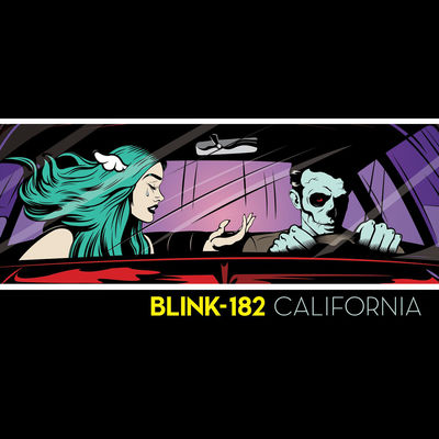 Blink-182 - California (Deluxe Edition) - Album Download, Itunes Cover, Official Cover, Album CD Cover Art, Tracklist