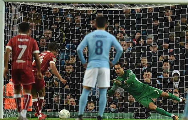 """Video Man City - Bristol City: Lao lực với """"ngựa ô"""", định đoạt phút bù giờ 1"""