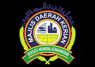 Majlis daerah kerian Logo Vector