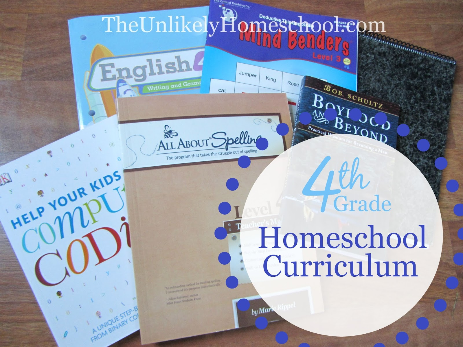 The Unlikely Homeschool 4th Grade Homeschool Curriculum