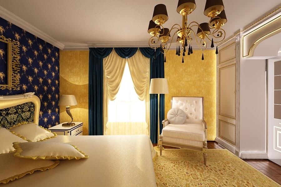 design dormitor casa de lux