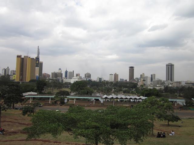 Skyline de Nairobi