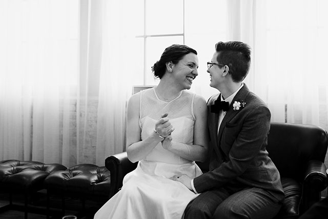 Feeling officially married | Photography by Jessica Holleque