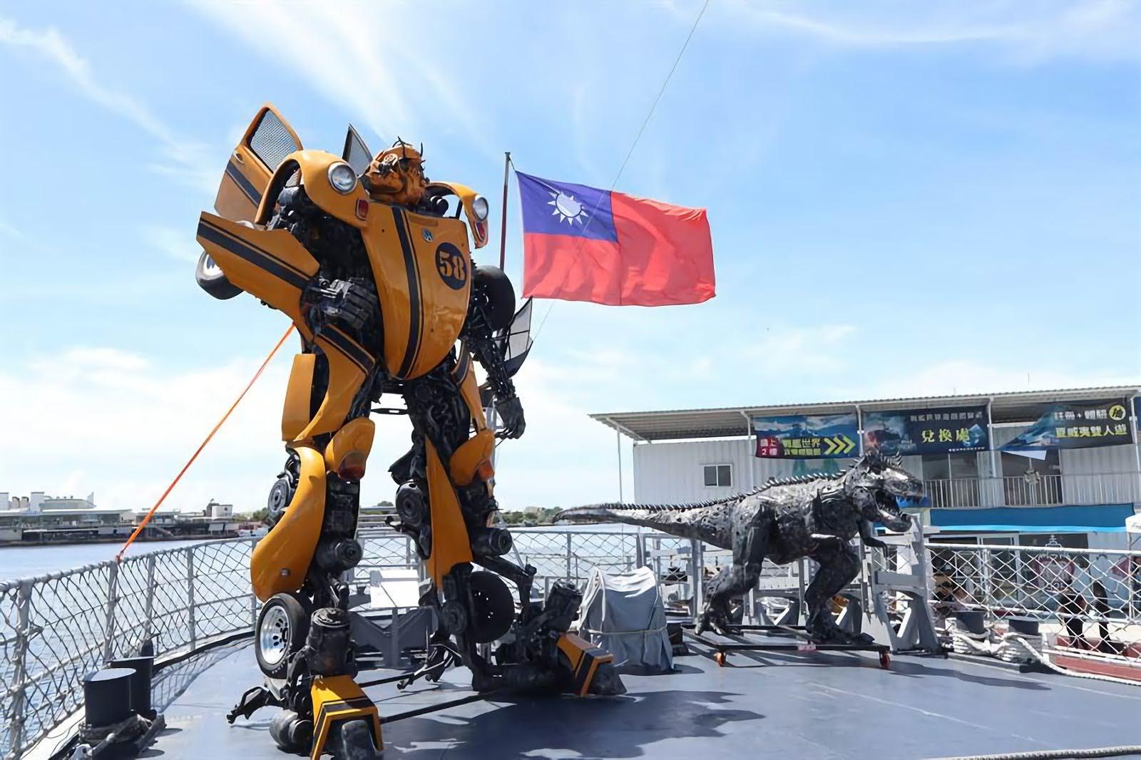 「艦證奇蹟」鋼鐵機器人創作特展|與熱血機器人一同捍衛德陽軍艦|活動