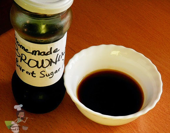 Homemade Browning or Burnt Sugar syrup : How to make Browning