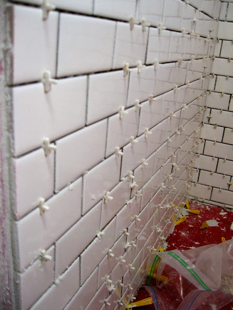Flights Of Fancy: 1,441 White Subway Tiles on the Wall