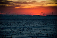 A wind farm in Pomeroy, Iowa. The wind power industry is booming in the United States, with wind-farm technician projected to be the country's fastest-growing occupation over the next decade. (Credit: Jim Watson/Agence France-Presse -- Getty Images) Click to Enlarge.