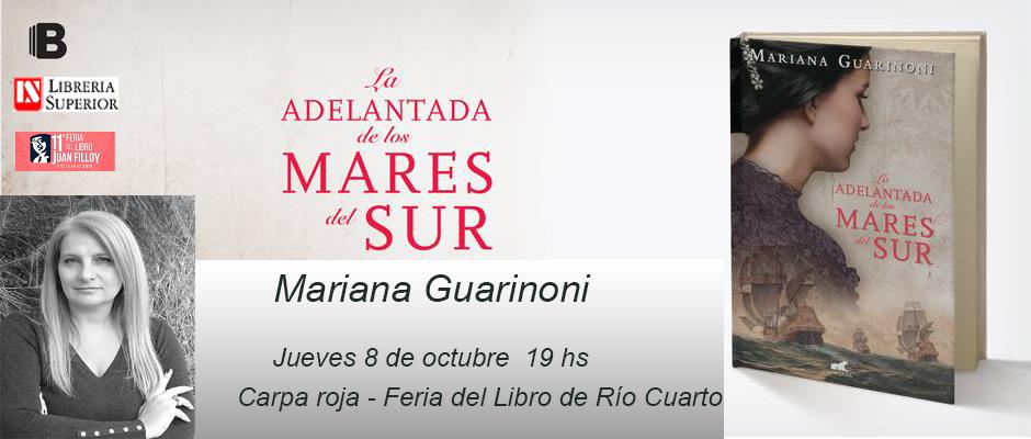 Mis Libros Mariana Guarinoni La Adelantada De Los Mares Del Sur
