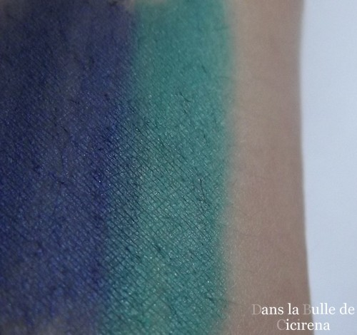 Swatches crayons regard , Yves Rocher