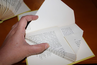 kirjojen taittelu