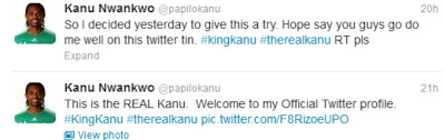 kanu twitter account