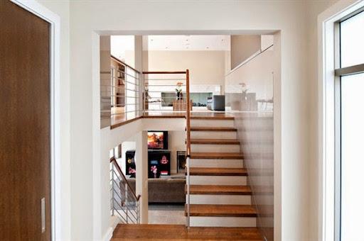 Desain Model Tangga Rumah Minimalis Modern 2 Lantai Terbaru 2015