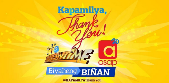 It's Showtime, ASAP 20 'Kapamilya Thank You' Biyaheng Biñan