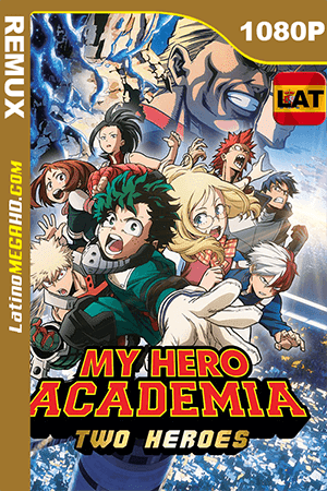 My Hero Academia: Two Heroes (2018) Latino Full HD BDRemux 1080P - 2018