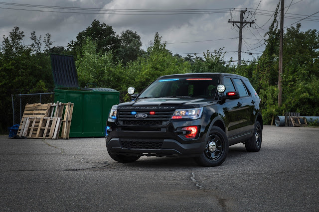 2016 Ford Explorer Police Interceptor Utility (Source: Ford)