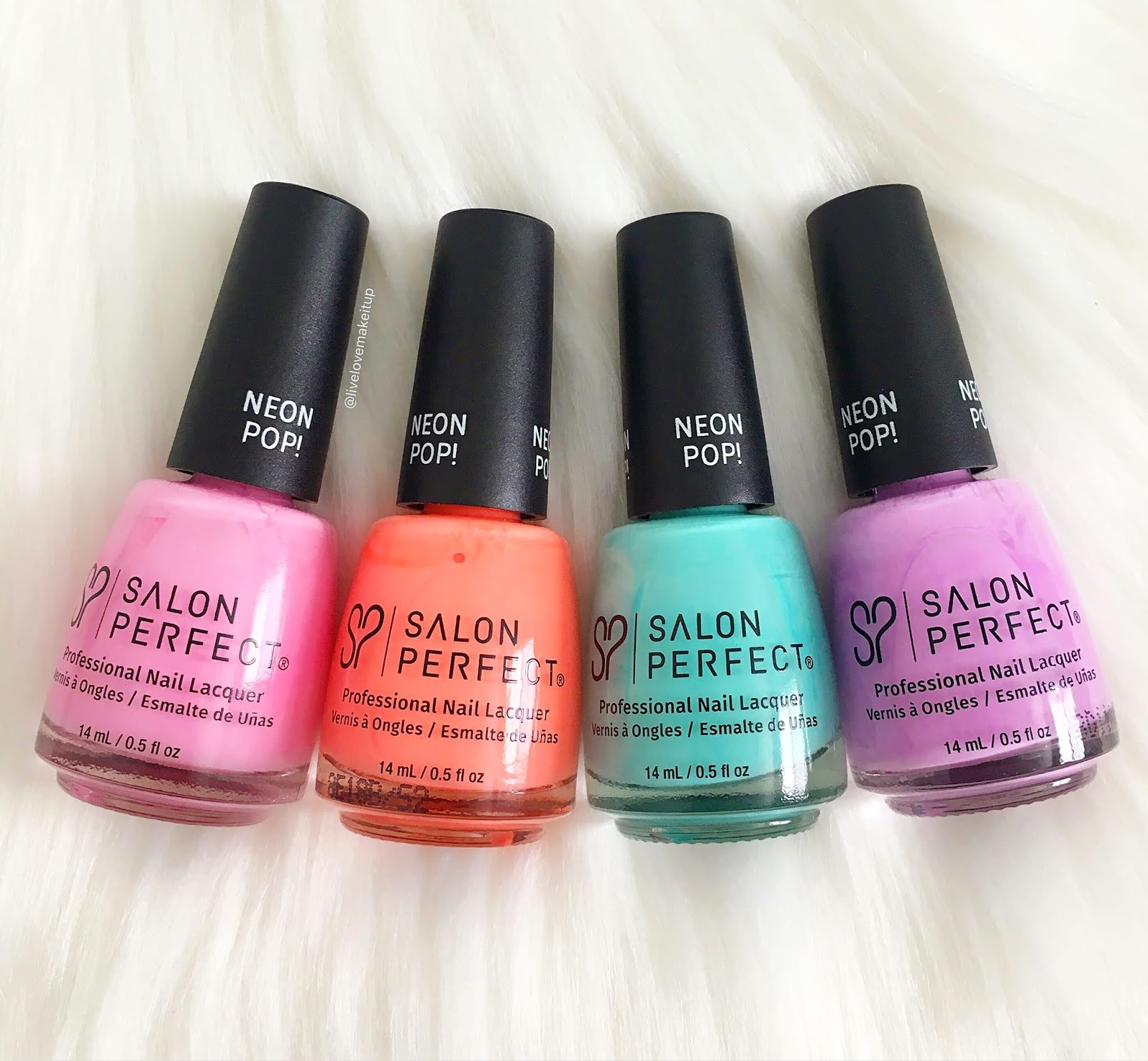 How To Glow Salon Perfect Nail Polishes Swatches Of 4 Shades