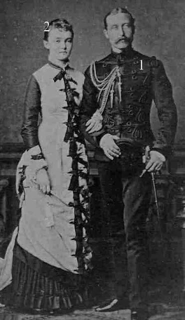 Prince Arthur, Duke of Connaught and Strathearn and wife