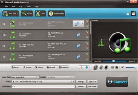 Aiseesoft Audio Converter 6.3.8 Multilingual Full Crack
