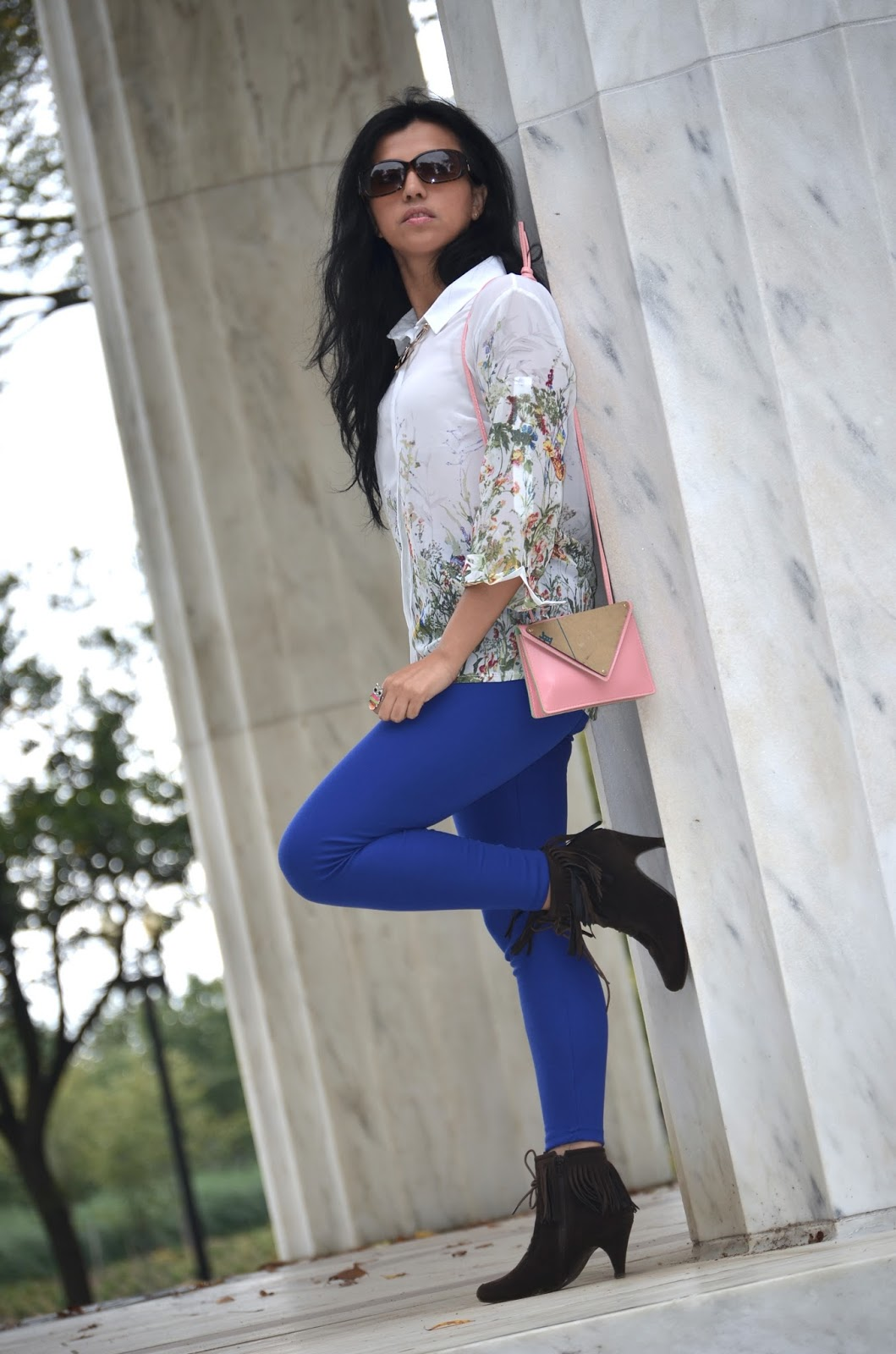 Royal Blue Leggings