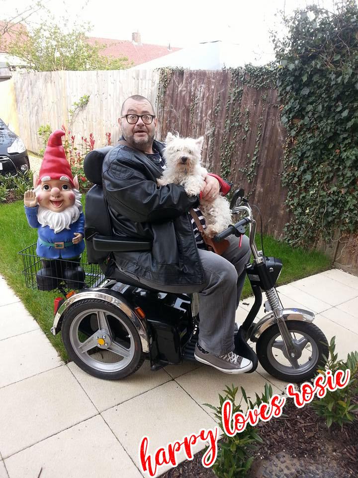 TGA Harley Davidson Scooter